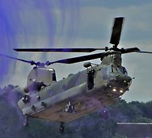 RAF LZ Departure by Barrie Woodward