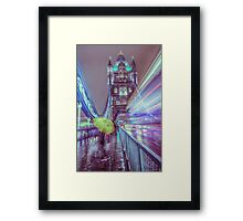 Yellow Brolly  Framed Print