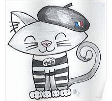 Noemi Le Chat Francais Poster