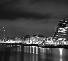 Dublin by night  by ccrowleyphoto