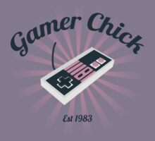 Gamer Chick by LeesaMay