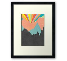 The Sun Rises on Planet X - 2 Framed Print