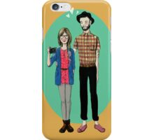 Hipster Valentine iPhone Case/Skin