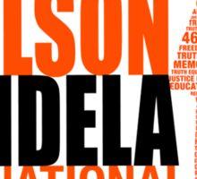 Nelson Mandela Day Sticker