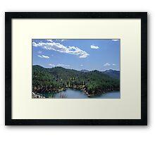 Rocky Mountain Lake Framed Print