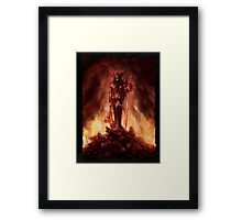 """Allwënn Diablo"" Artwork by CHARRO Framed Print"