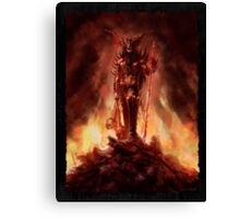 """Allwënn Diablo"" Artwork by CHARRO Canvas Print"