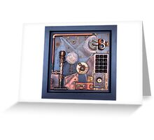 Steampunk Prototype Greeting Card
