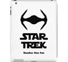 STAR TREK number one fan iPad Case/Skin