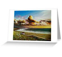 Irish coastline Greeting Card