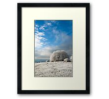 Heavy Frost Framed Print