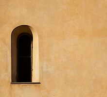 Window and Stucco by Charlotte Lake