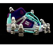 StormTroopers And The ShoeMaker Photographic Print