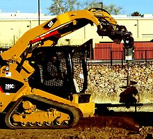 Compact Multi Terrain Track Loader  by ptosis