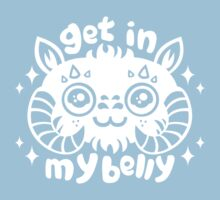 "Tauntaun ""Get In My Belly"" Kids Clothes"