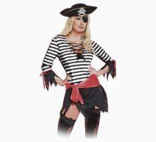 pirate skull Baby Tee