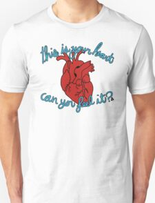 pumps through your veins Unisex T-Shirt