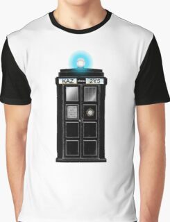 Supernatural Tardis Graphic T-Shirt