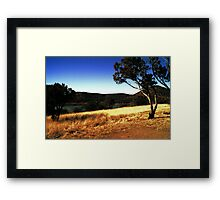 Parker Canyon Lake Framed Print