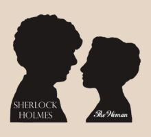 Sherlock & The Woman by CarolineDesign
