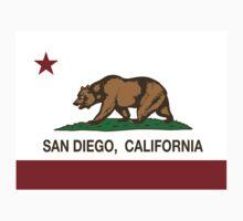 San Diego California Republic Flag Kids Clothes