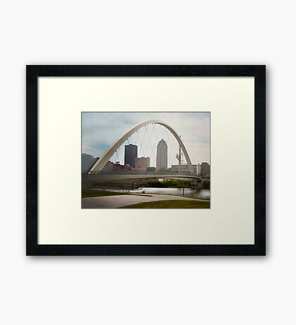 Pedestrian Bridge Framed Print