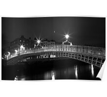 Starlight Bridge Dublin  Poster