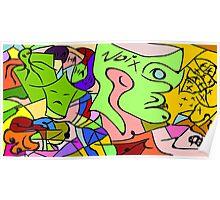 Brazil Artis Rodrigo Exclusive Art Poster