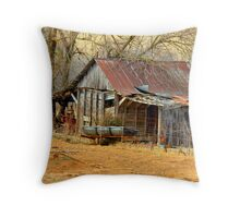 Quaint Little Barn Throw Pillow