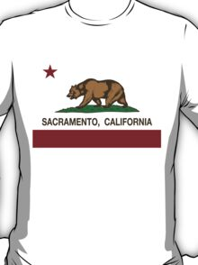 Sacramento California Republic Flag T-Shirt