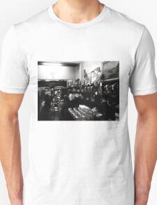 Espresso Bar, B&W... Unisex T-Shirt
