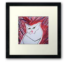 maxwell cat 2 Framed Print