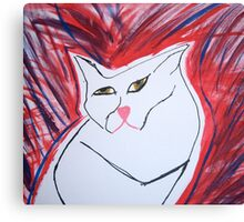 maxwell cat 2 Canvas Print