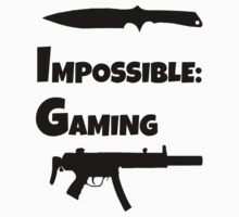 Impossible Gaming-BLACK FONT by ImpossibleStyle