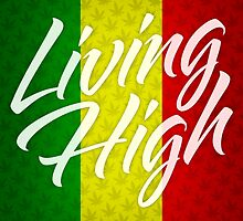 Living High Typography (Light) by TheMagicLamp