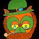 Leprechaun Cat - ipad case by Shulie1