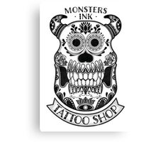 Monsters INK Sully Canvas Print