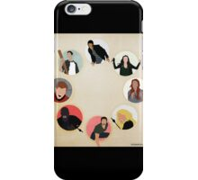 Teen Wolf Pack Graphic (Black Cases) iPhone Case/Skin