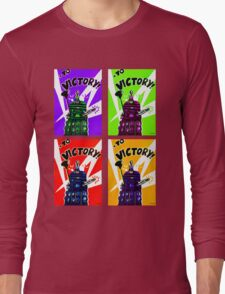 To Victory Dr. Who  Long Sleeve T-Shirt