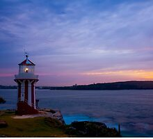 Hornby Lighthouse NSW by Toni McPherson