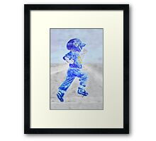 """Home Run!"" Framed Print"