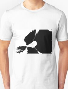 pansy silhouette T-Shirt