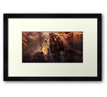 The King's Remains  Framed Print