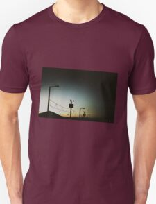 Beach Hut Sunset T-Shirt