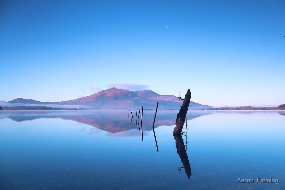 Reflections on Lake by Aaron  Fleming