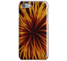 Orange Clematis Abstract iPhone Case/Skin