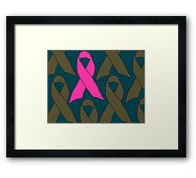 Survivors and Supporters Framed Print