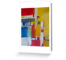 City Scape into Nature Greeting Card