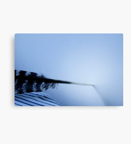 Quill undecided Canvas Print