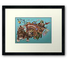 Caravan Adventure Framed Print